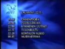 Программа передач и конец эфира (MTV3 [Финляндия], 22.05.1993)