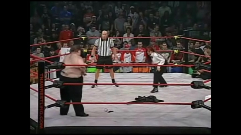 [My1] (-***) Christy Hemme vs. Big Fat Oily Guy (TNA Against All Odds 2007)
