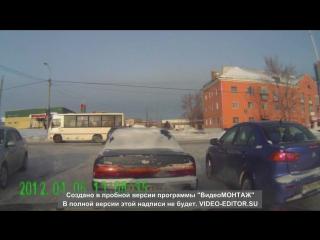 25 декабря 2016 г авария на перекресте мясокомбината г Барнаул