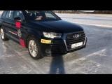 Вся правда о школе вождения Audi что можно вытворять на гражданской Q7 с приводом quattro - день 2