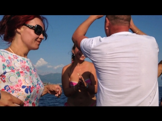 Великолепная Черногория...Прогулка на яхте...