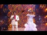 Алексей Глызин и Варвара (Аль Бано и Ромина Пауэр) в новогоднем выпуске