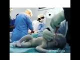 Сирийская мать была на 9 месяце беременности. По дороге в больницу её автомобиль попал в аварию.