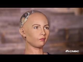 Робот Шкура София. Технологии будущего