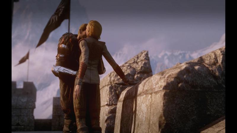 Dragon Age Inquisition Cullen x M!Lavellan Romance Part 4