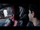А кто этот блескучий В такси у Допиндера. Дэдпул. Перевод Кубик в Кубе. 18