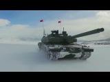 Otokar - Altay Main Battle Tanks Field & Snow Testing [1080p]