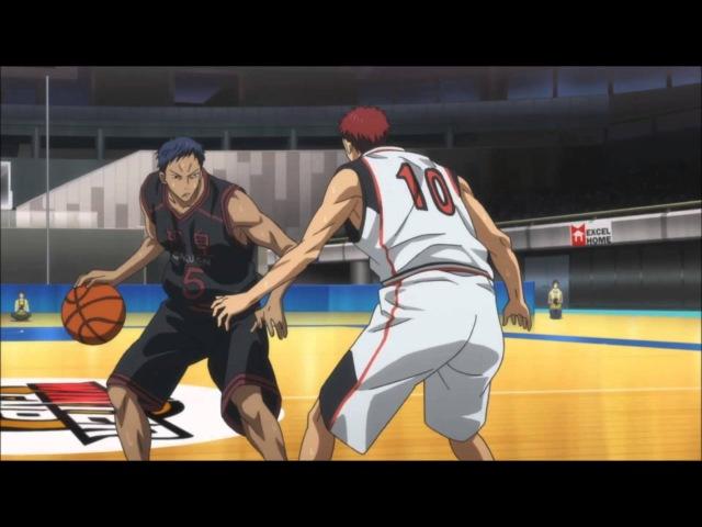 Kuroko no Basket 43 Aomine vs Kagami episode 18 season 2 THE ZONE