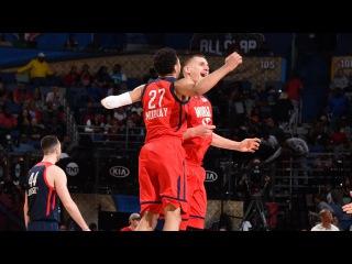 Team World vs Team USA - Full Game Highlights | February 17, 2017 | 2017 NBA Rising Stars Challenge. Матч восходящих звезд НБА