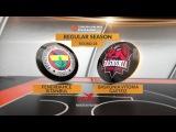 Highlights: Fenerbahce Istanbul-Baskonia Vitoria Gasteiz. Евролига. Обзор. Фенербахче - Баскония