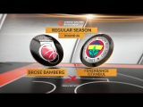 Highlights: Brose Bamberg-Fenerbahce Istanbul