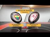 Highlights: Fenerbahce Istanbul-Olympiacos Piraeus. Евролига. Обзор. Фенербахче - Олимпиакос