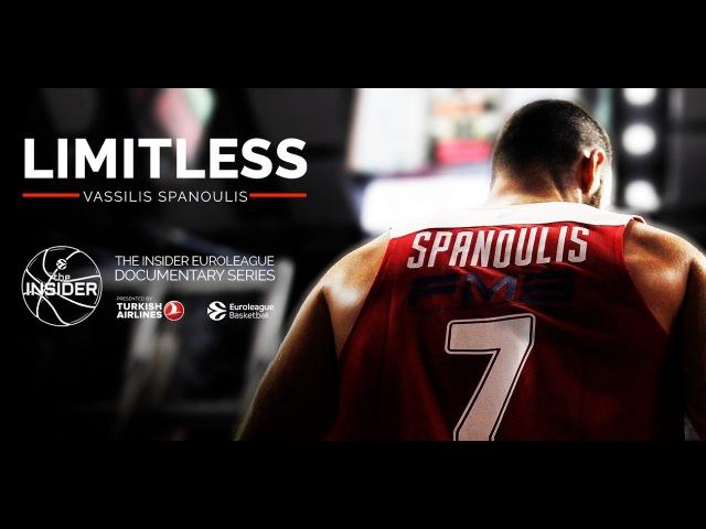 Limitless Vassilis Spanoulis The Insider EuroLeague Documentary