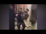Встреча Рамзана Кадыров и Михаила Галустяна после пародии на КВНе =))