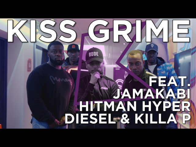 Jamakabi Hitman Hyper Diesel Killa P Freestyle Chat KISS Grime with Rude Kid