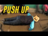 22 Push Up challenge #2    Отжался в трамвае 22 раза.