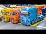 RC trucks in Action! SCANIA, M.A.N, MERCEDES BENZ and more!