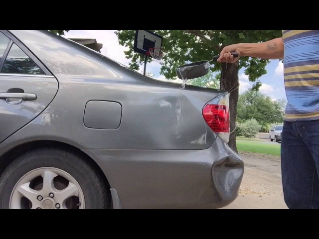 LifeHacks Using Boiling Water to Get Car Dents Out