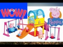 Unpacking #PEPPA PIG House. Unboxing Toys Review The Holiday Peppa Pig