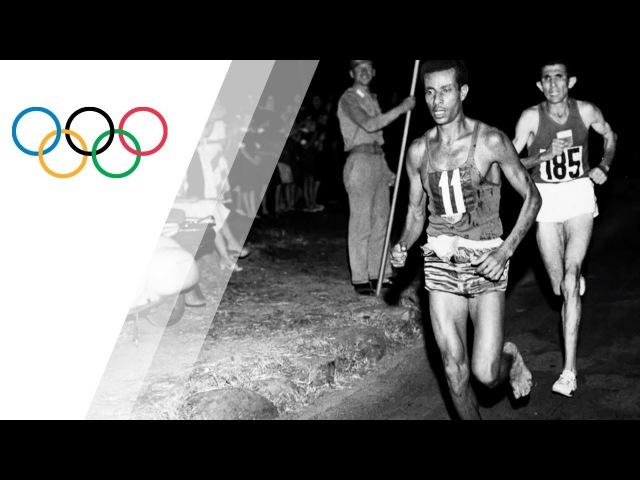 How Bikila won the Marathon without any shoes
