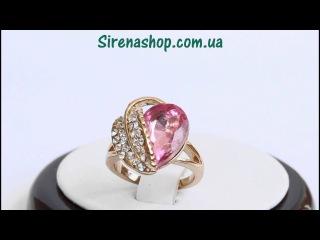Sirenashop.com.ua: Бижутерия (Кольцо Иная) с кристаллами Swarovski