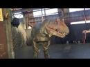 Вот как снимают фильмы про динозавров