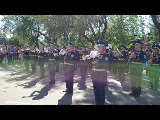 Москва (гр. Винтаж) - Оркестр Президентского полка республики Казахстан