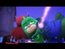 Герои в масках PJ Masks - 1 сезон 8 серия Кэтбой против праздничного торта Гекко и Храпозавр (Русский дубляж - Дисней)