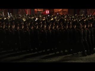 В Москве провели последнюю ночную репетицию парада перед 9 мая