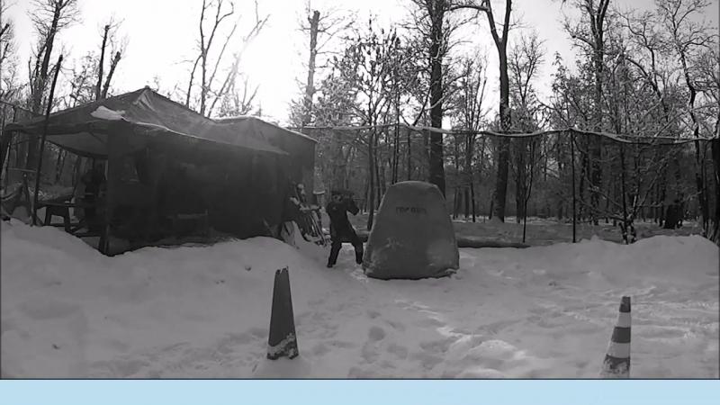 тренировка по спорт пейнтболу передавливание и удержание аппонента 1я часть pbc.kz КЛУБ СКОРПИОН