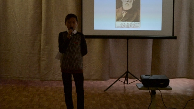 Данил Мединцев читает одно из Стихотворений в прозе И.С.Тургенева
