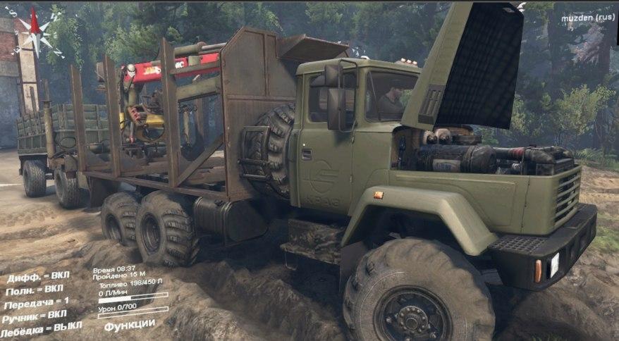 КрАЗ-6322 для Spintires - Скриншот 1