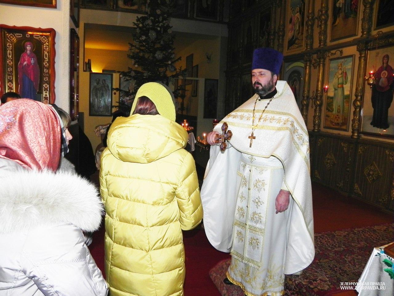 В Зеленчукском районе встретили Рождество Христово