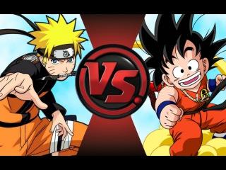 NARUTO vs KID GOKU! Cartoon Fight Club Episode 62