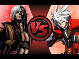 DANTE vs RAGNA! Cartoon Fight Club Episode 71