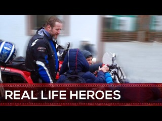REAL LIFE HEROES 2017 🏍 Bikers For Humanity: Part 2 | Random Acts of Kindness | Helping Others