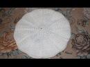 Берет крючком с полосками из рельефных столбиков на объем головы 58 см