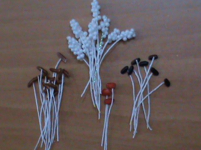 DIY/МК Как сделать тычинки, новыми способами для цветов канзаши