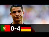 Portugal vs Germany 0-4 All Goals and Highlights (FIFA World Cup) 2014 HD 720p