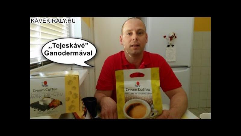 DXN krémkávé-élményvideó: Cream Coffee, a ganodermás tejeskávé cukor nélkül