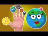 Планеты Палец Семья  Палец песня  Компиляция для малышей  детского стишка  Planet Finger Family