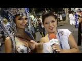 Carnaval Plus TV 2016 || Ellen Santana - Musa da Caprichosos desfila com os peitos de fora