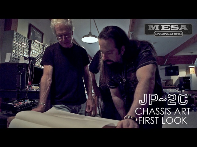 JP-2C Chassis Art First Look with John Petrucci in the Tone Lounge