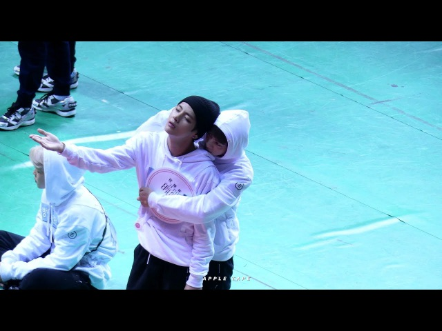 170116 ISAC 총쏘는 김석진 방탄소년단 진 BTS Jin focus fancam