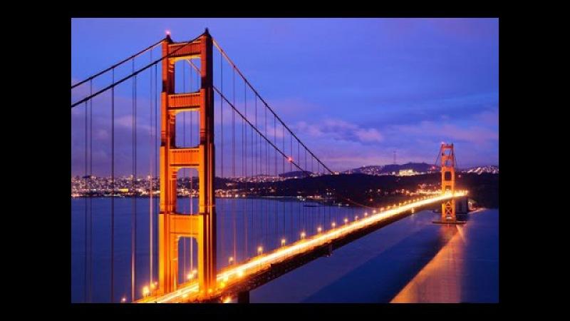 США. Мост ЗОЛОТЫЕ ВОРОТА в САН-ФРАНЦИСКО\ Golden Gate San Francisco