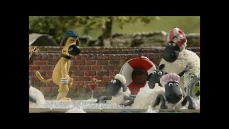 Барашек Шон S1E3 Банный день Shaun the Sheep Bathtime