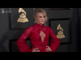 Carrie Underwood - Grammy Awards 2017 Red Carpet