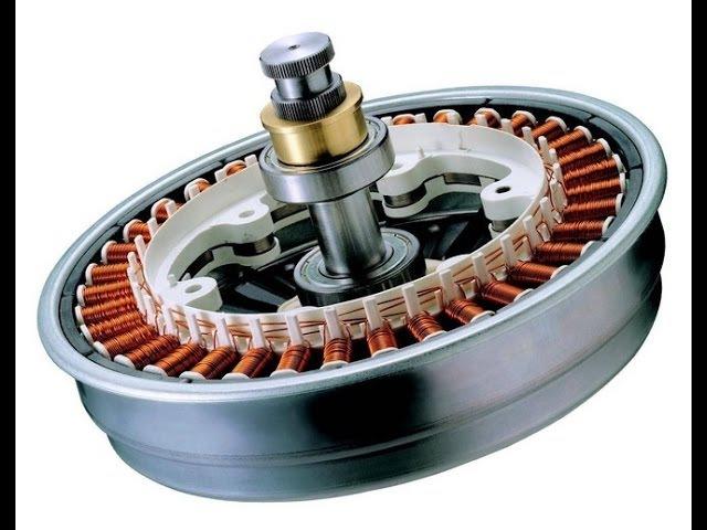 Инверторный мотор LG Direct Drive (прямой привод)