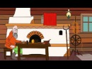 Чуар тавык Рус халык әкияте - Мультфильм Сказка Курочка Ряба на татарском языке