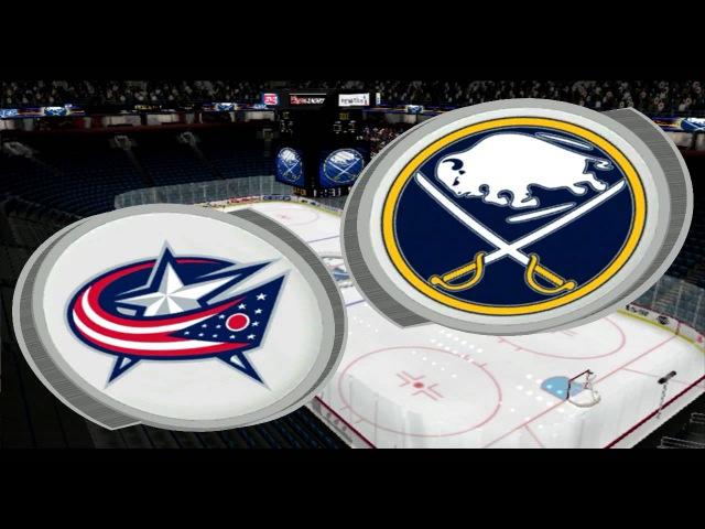 EAPHL NHL 2004 Columbus Blue Jackets(Laker)- Buffalo Sabres(RedWhite94)